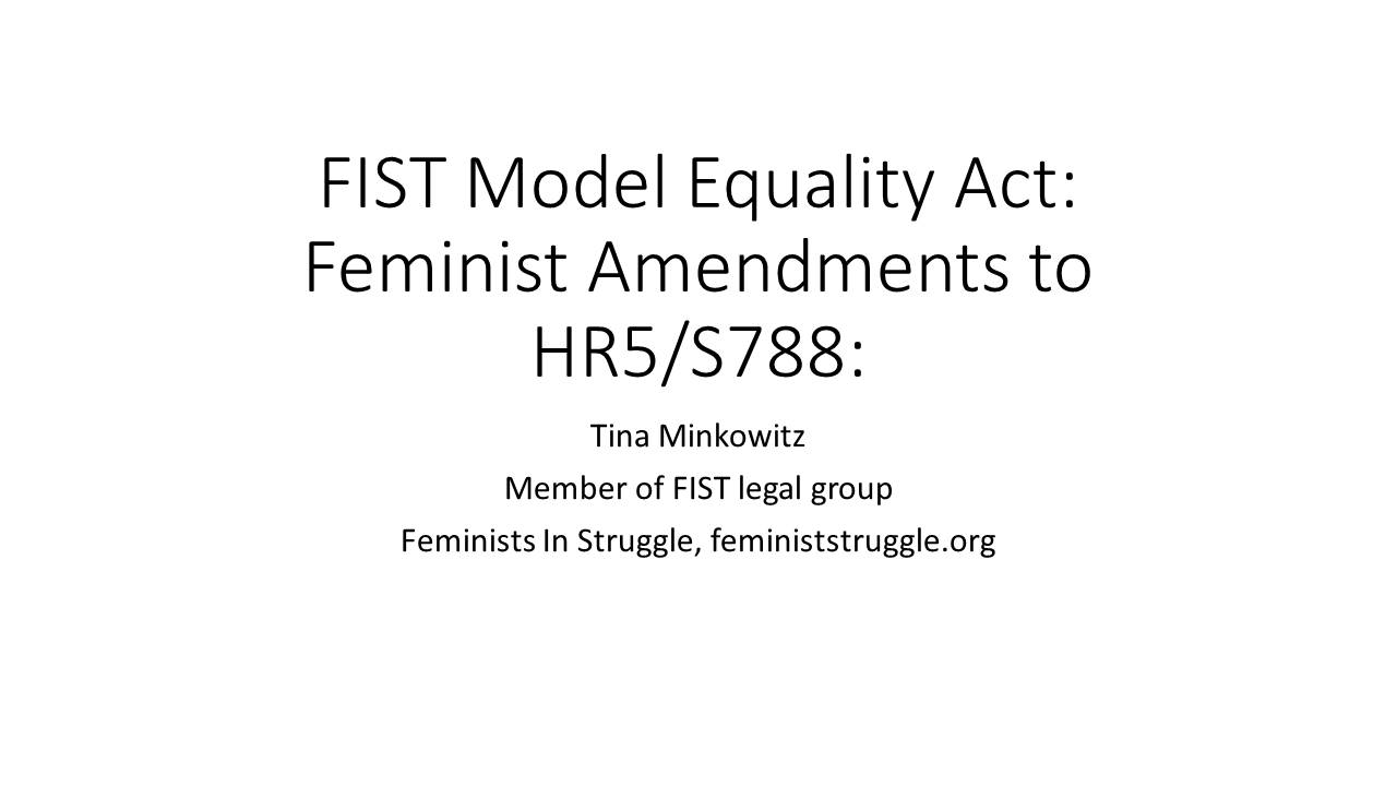 FIST Model Equality Act