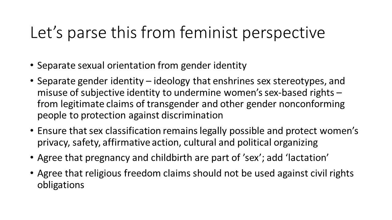 Feminist Perspective
