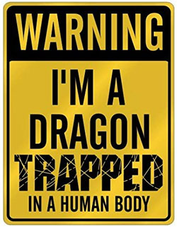 Dragon trapped in human body