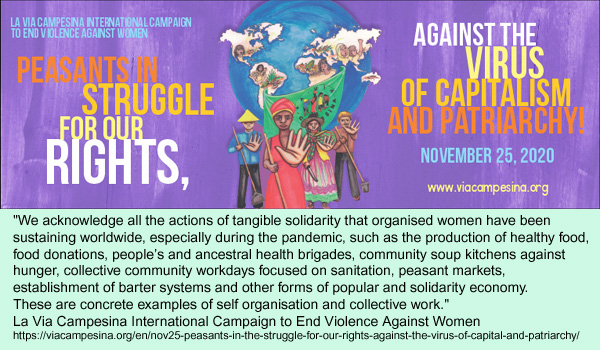 La Via Campesina Campaign to End Violence Against women