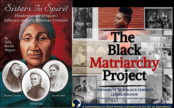 Sisters in Spirit book plus Black Matriarchy Project