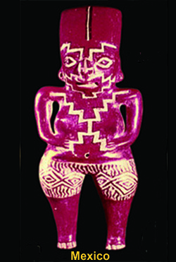 Female icon from Mexico