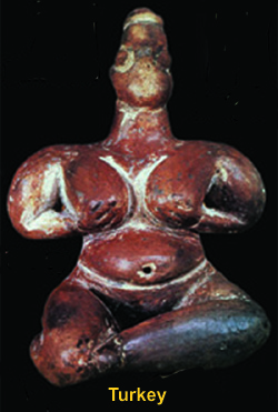 Female icon from Turkey