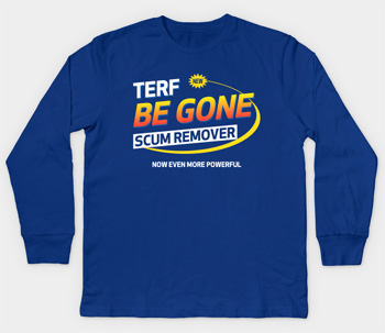 Anti-terf children's t shirt